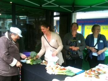 Cropshare promotion in Burnley Town Centre